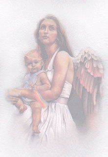 Moms are given children to nurture for God because they are gifts from God