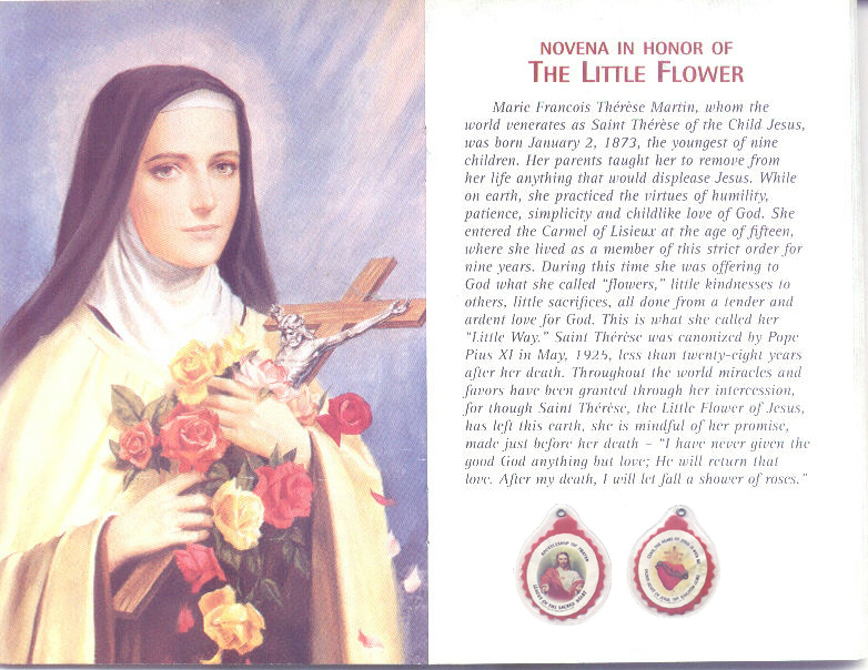 St therese of lisieux on prayer